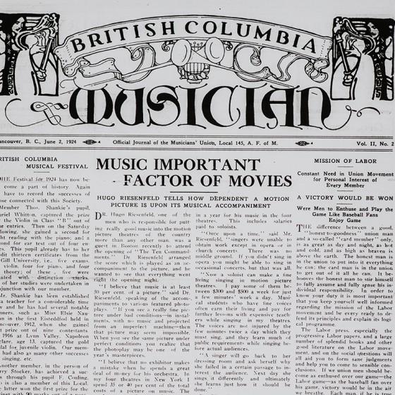 <em>BC Musician</em>