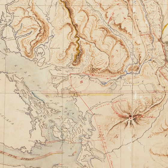 Pre-Confederation map