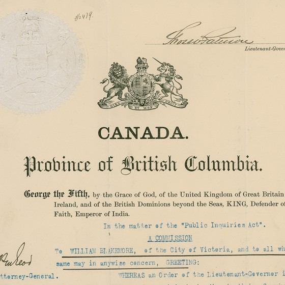 <em>Royal Commission on the Doukhobor Sect, 1912</em>