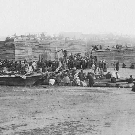 Potlatch at Songhees Village, Victoria