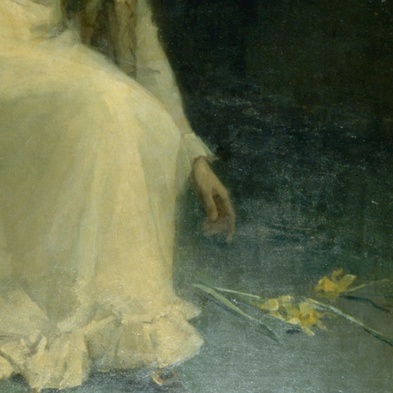 <em>Girl With Daffodils</em>