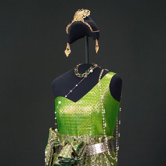 Cambodian dance costume