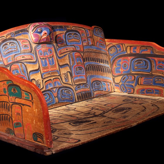 Heiltsuk chief's settee