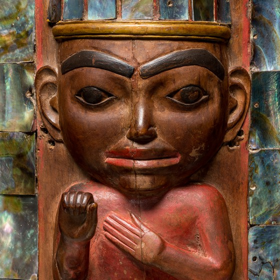 Haida headdress frontlet