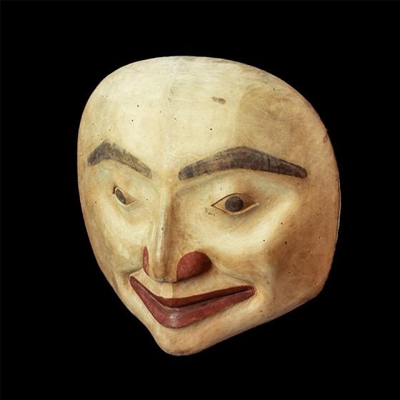 Nis<u>g</u>a'a mask