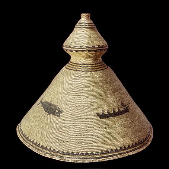 Tla-o-qui-aht whaler's hat