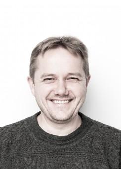 Curator Gavin Hanke