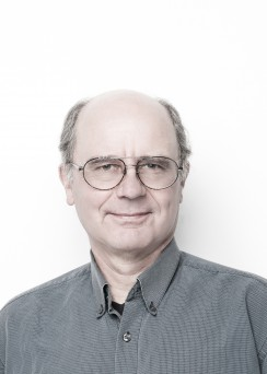 Curator Richard Hebda