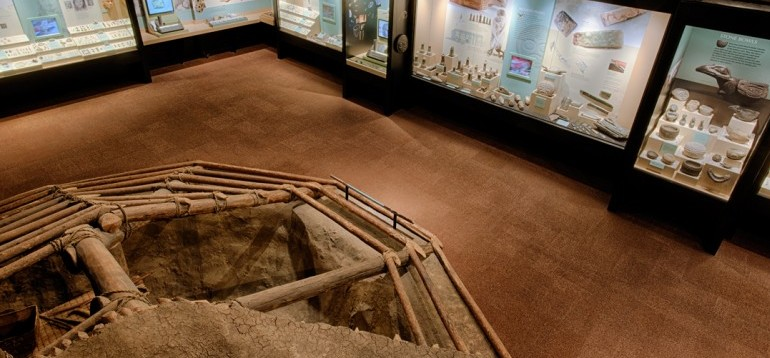 Archaeology Gallery Top View