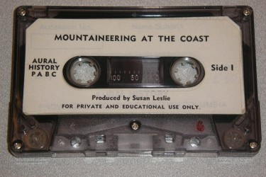 BC Archives recordings