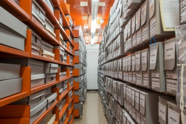 BC Archives shelves