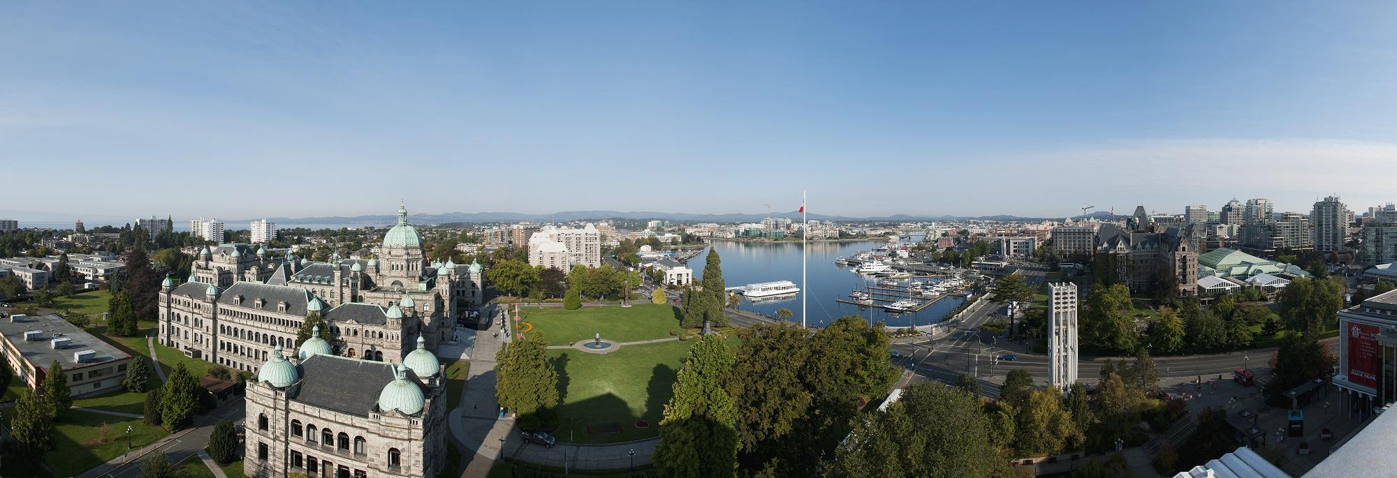 Victoria Inner Harbour Panorama