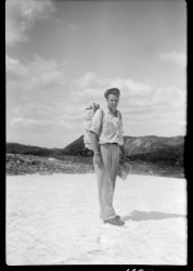 Alpine Range survey,  Pukeashun Mountain,  T. Wallace, 1953.
