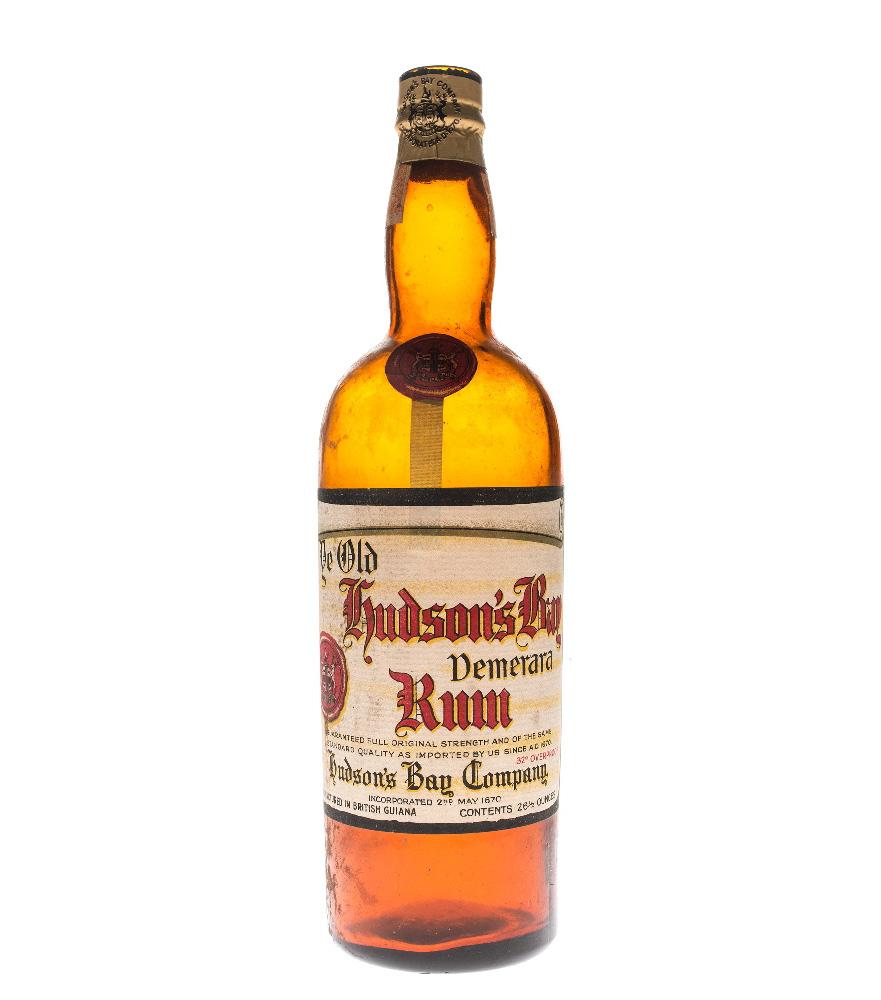973.169.3a Hudson's Bay Rum