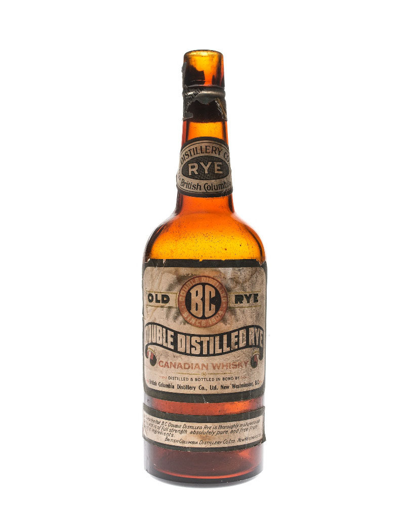987.7.42a BC Distillery Rye