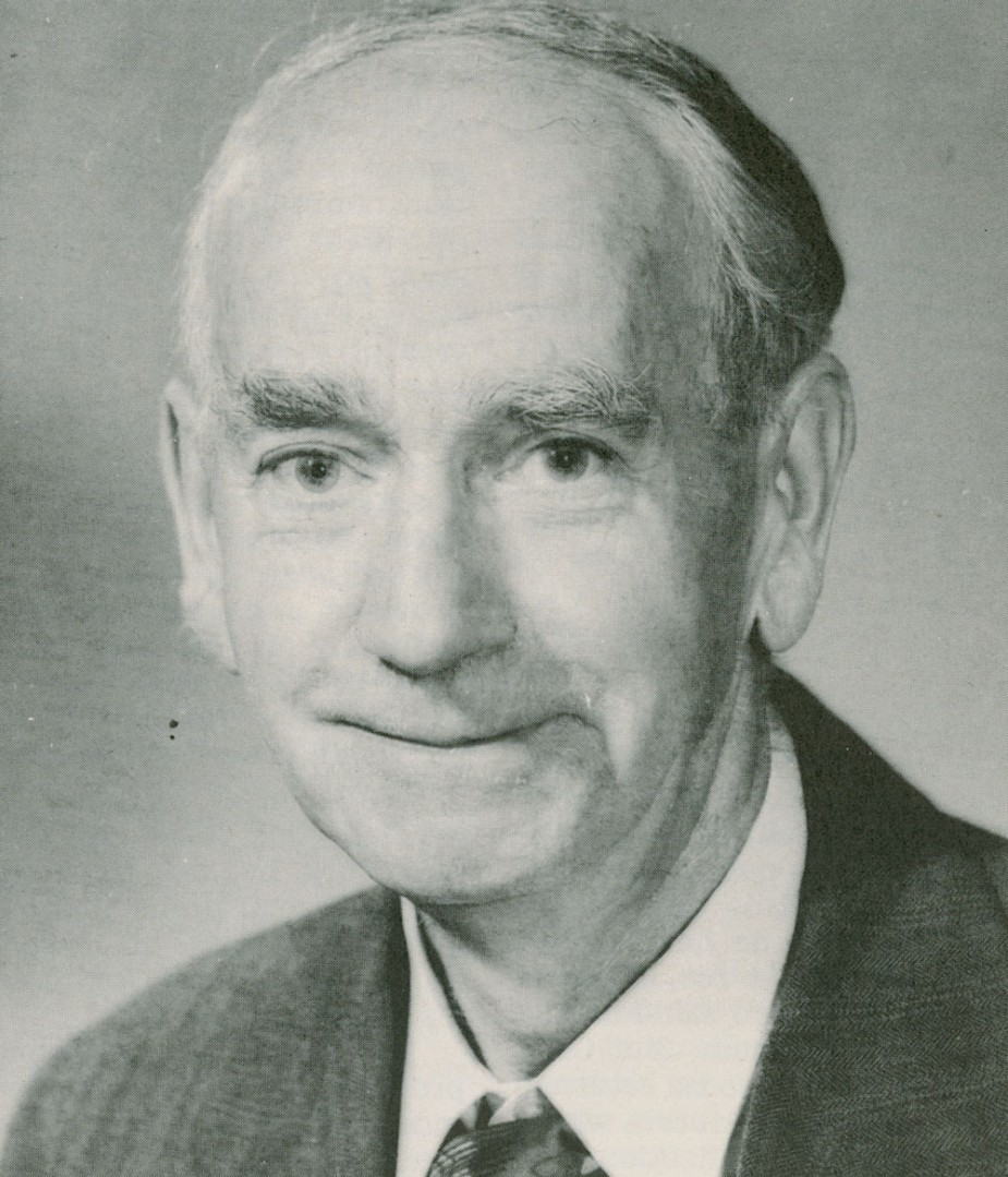 Figure 6. George A. Hardy (1888-1966). Museum botanist and entomologist whose collections of Vancouver Island moths and beetles are a valuable historical resource.
