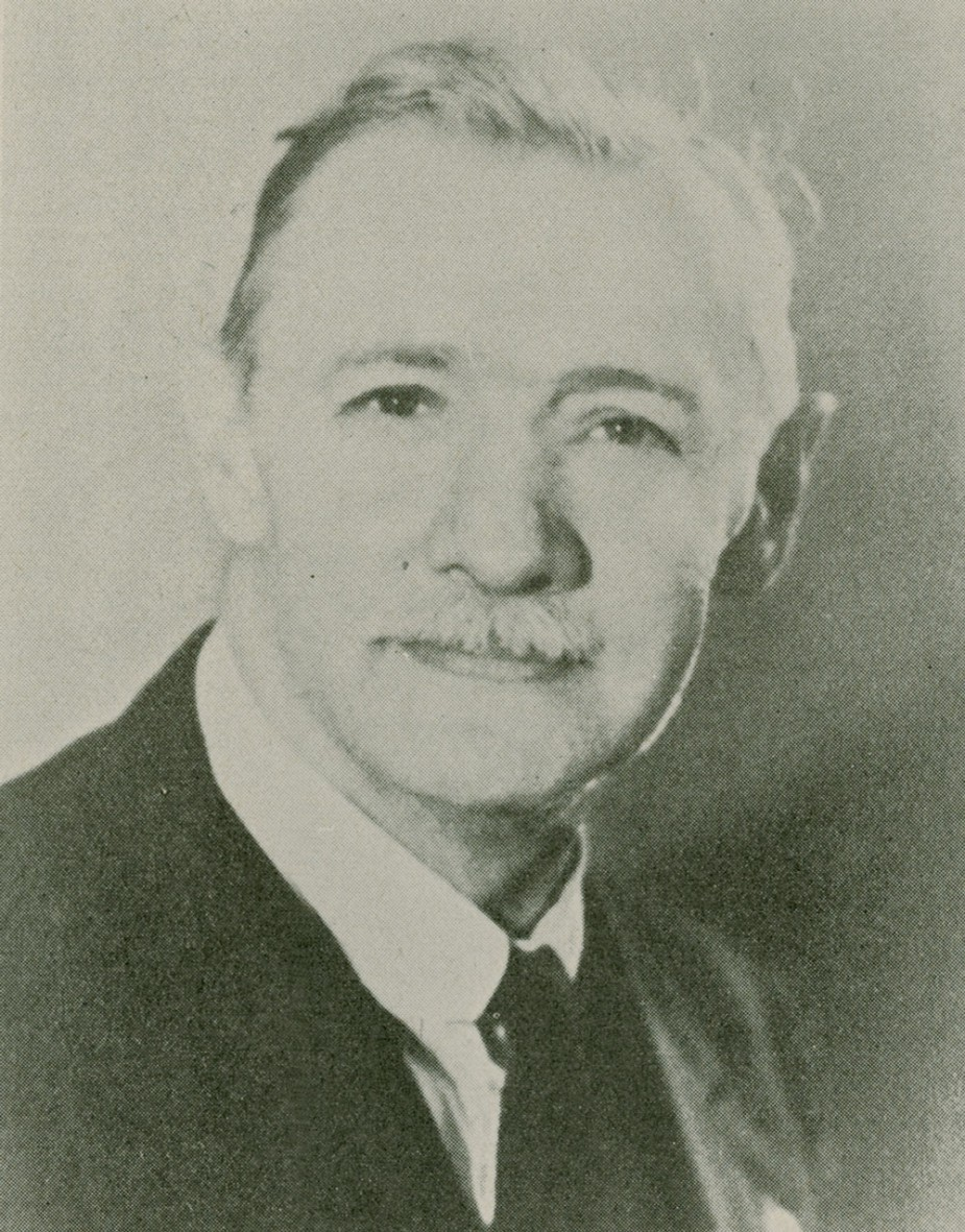 Figure 9. Max Hermann Ruhmann (1880-1943). Agricultural entomologist whose collections were donated to the RBCM by the BC Ministry of Agriculture.