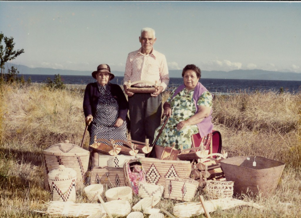 Cheeneh (Jeannie Dominick);Sxwaxwe (Chief Billy Mitchell); Pekultanaht (Rose Mitchell)