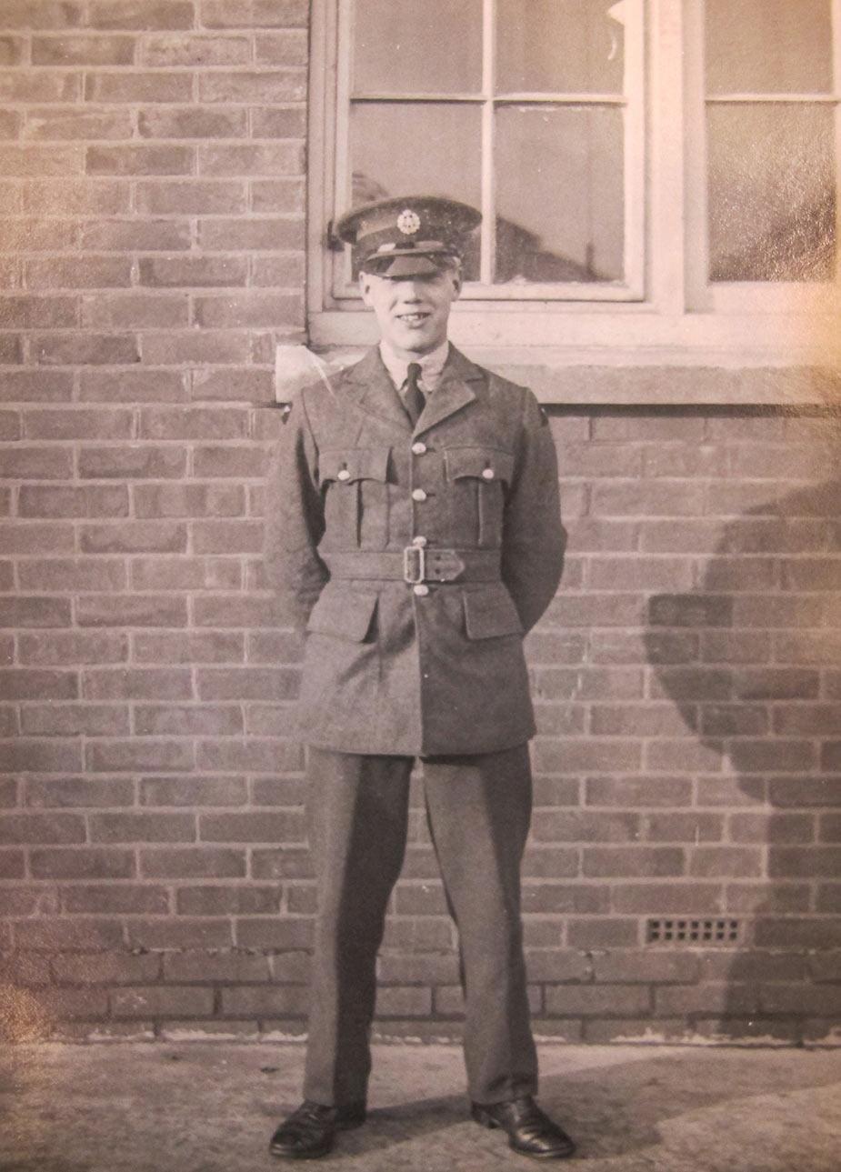 My Grandfather, Dennis Fletcher.