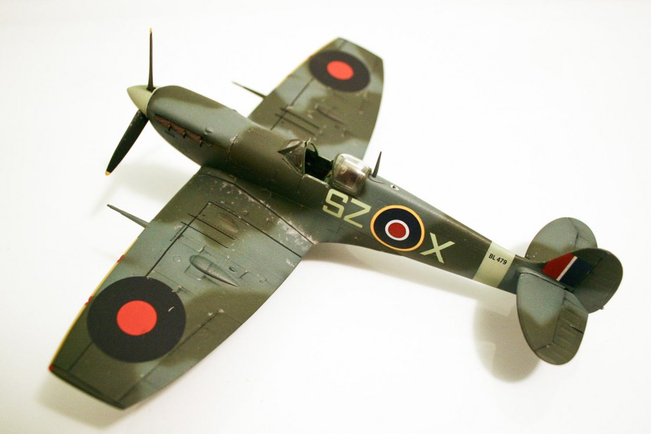 a model MK. IV Spitfire