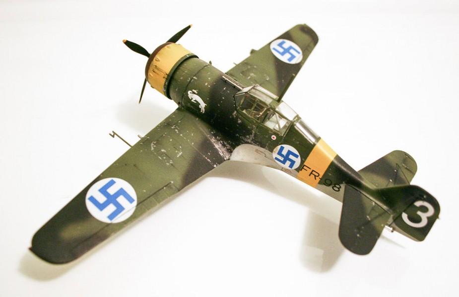 A Finnish Fokker D.XXI