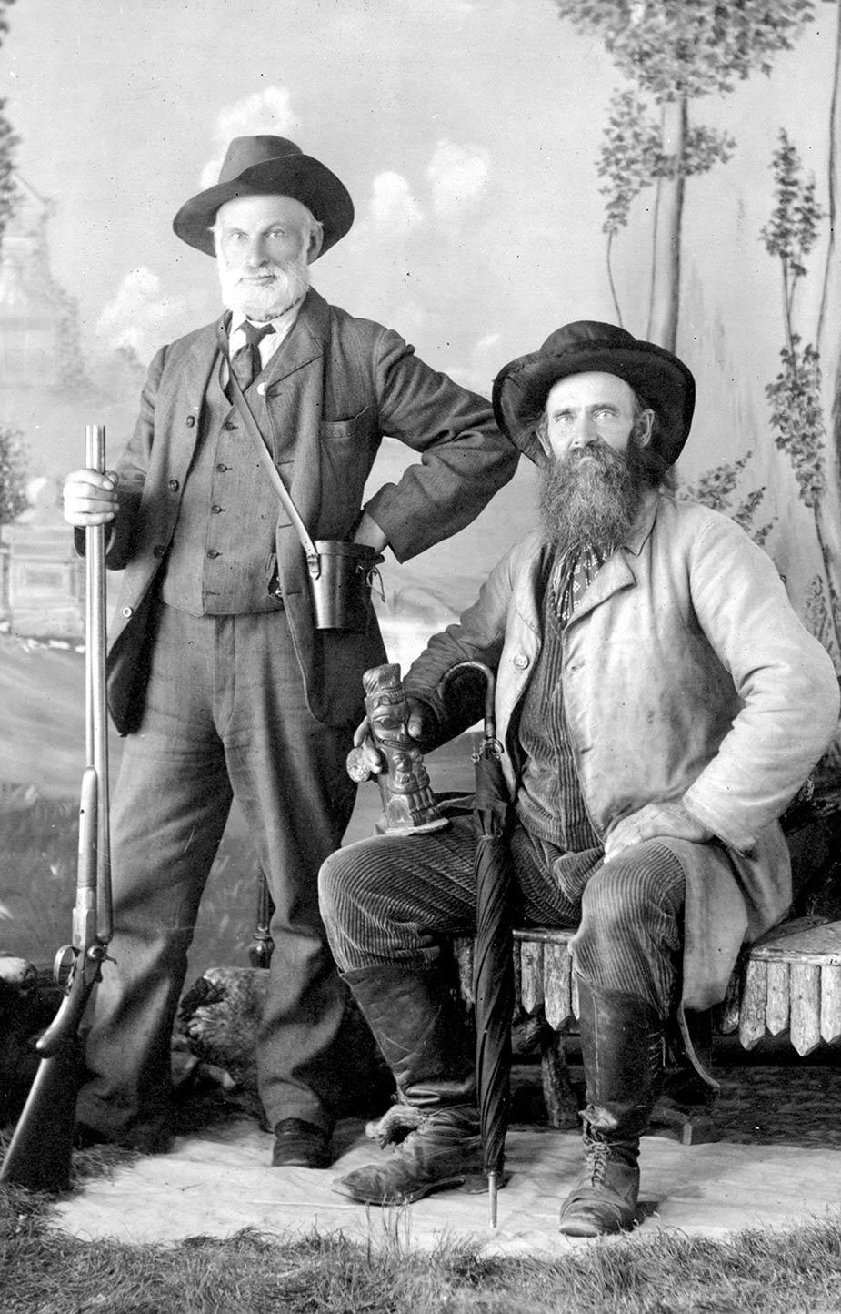 Richard Maynard and Captain Newton H. Chittenden