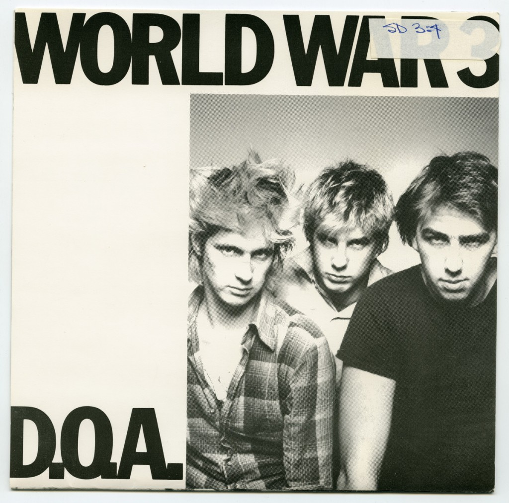 DOA - World War Three (Sudden Death Records)
