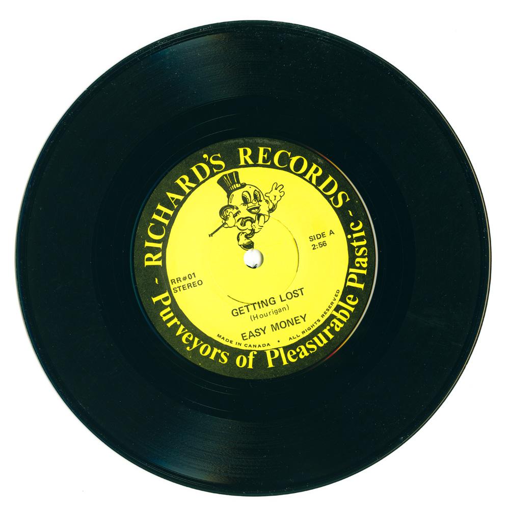 Easy Money – Getting Lost b/w High fashion (Richard's Records)