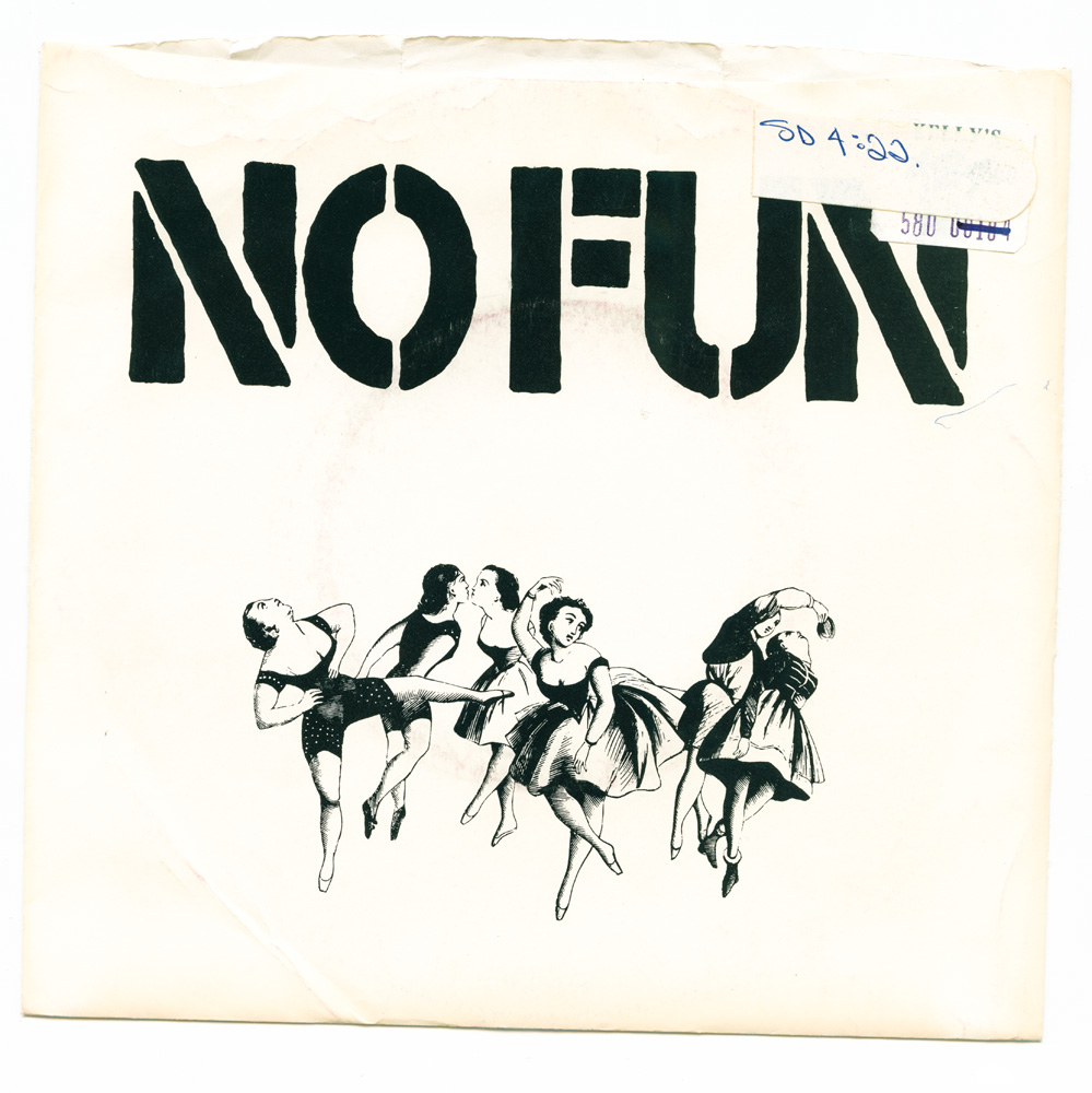 No Fun – At the disco  (Werewolf T-Shirts Records)