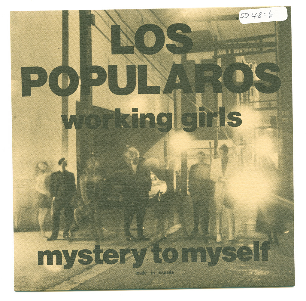Los Popularos Working girls b/w Mystery to myself (Puerco-Maria Records)